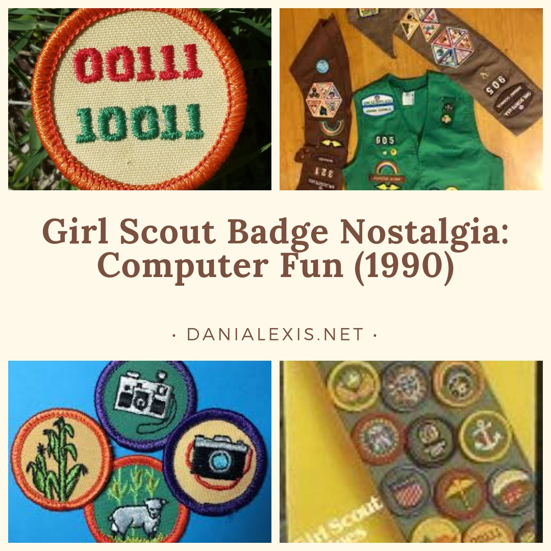 Girl Scout Badge Nostalgia