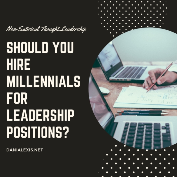 Should you hire millennials for leadership positions_